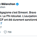 J.-l. mélenchon, élection corse et élection catalane - documents