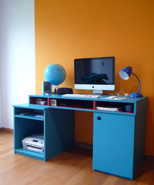 bureau ado meuble pour enfants mie trampoline. Black Bedroom Furniture Sets. Home Design Ideas