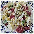 Salade endives/avocat/magret canard séché