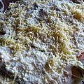 Gratin de courgettes à la mimolette