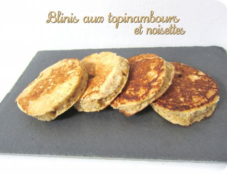blinis topinambour (scrap)
