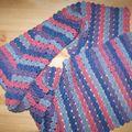 écharpe crochet suivant modèle japonais