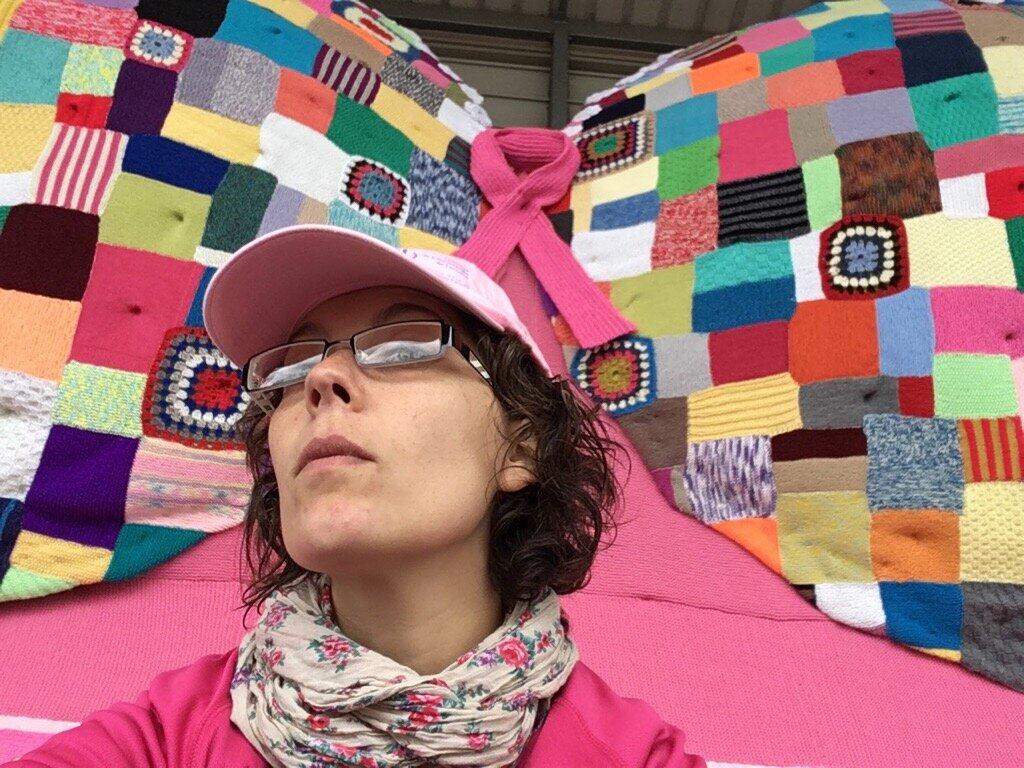 Mes petits tricots pour octobre rose DIY {jeudi création}