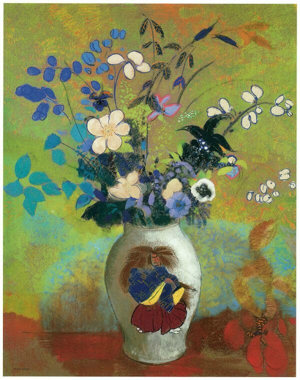 vase-au-guerrier-japonais-painting-by-odilon-redon-vase-au-guerrier-japonais-fine-art-prints-and-posters-for-sale-1364875123_b