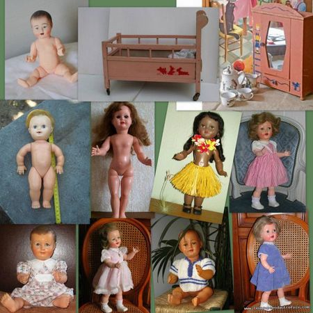 Poupées et mobilier poupée 50