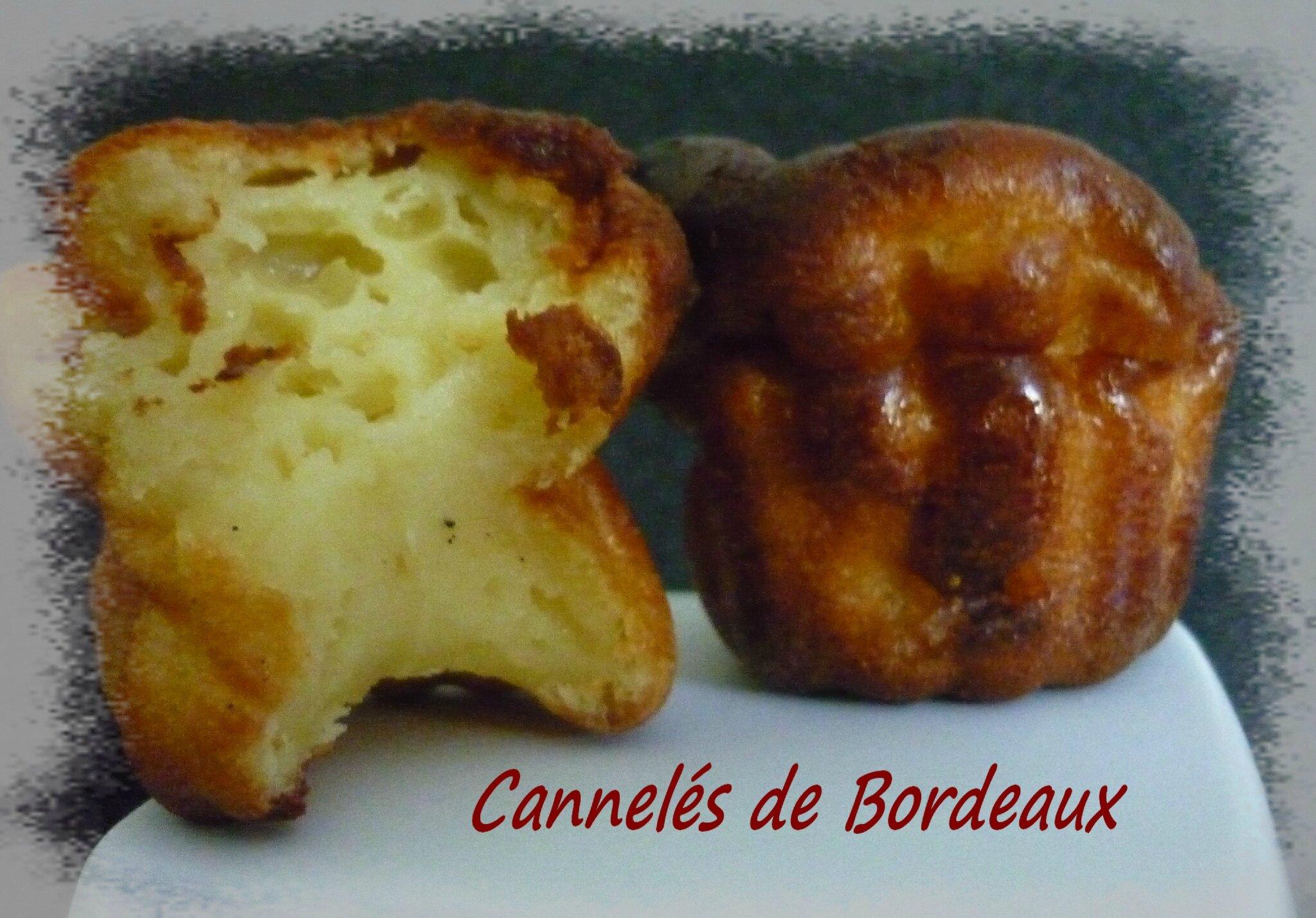 Cannelés de Bordeaux - La petite cuisine de Framboisine
