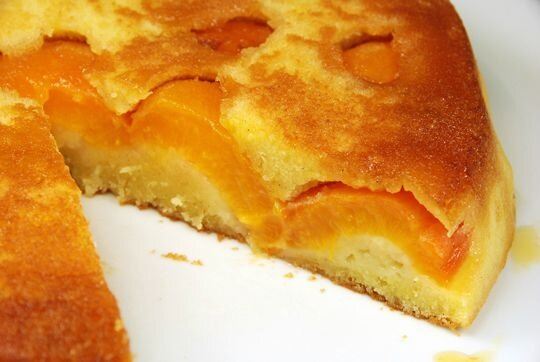 gâteau caramélisé aux abricots - péché de gourmandise