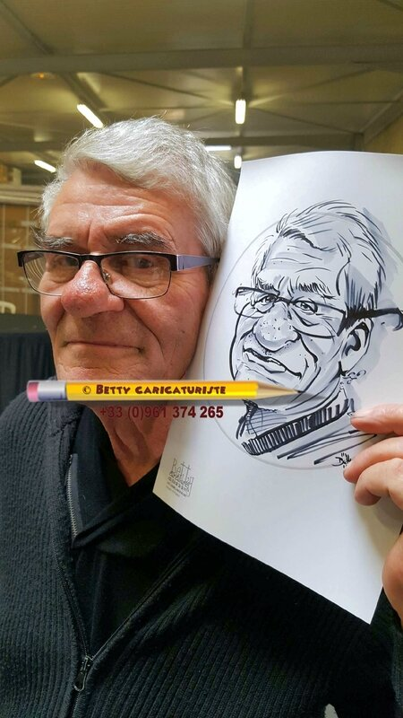 caricature gros nez cartoon Karikaturist