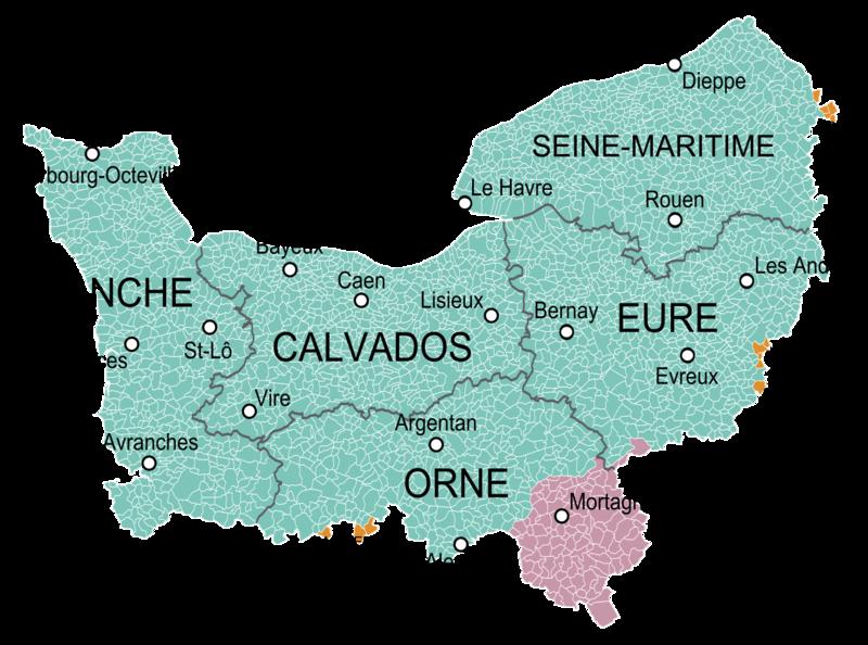 Normandie_et_provinces