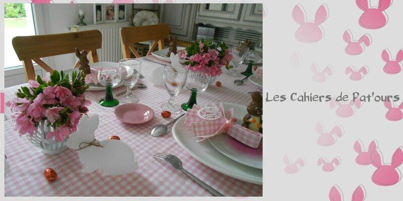 table de Pâques 2014