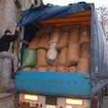le camion est bien rempli, il peut partir