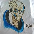 T-SHIRT MASS EFFECT 2 GARRUS