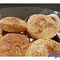 Brunch du dimanche avec des muffins anglais (map)