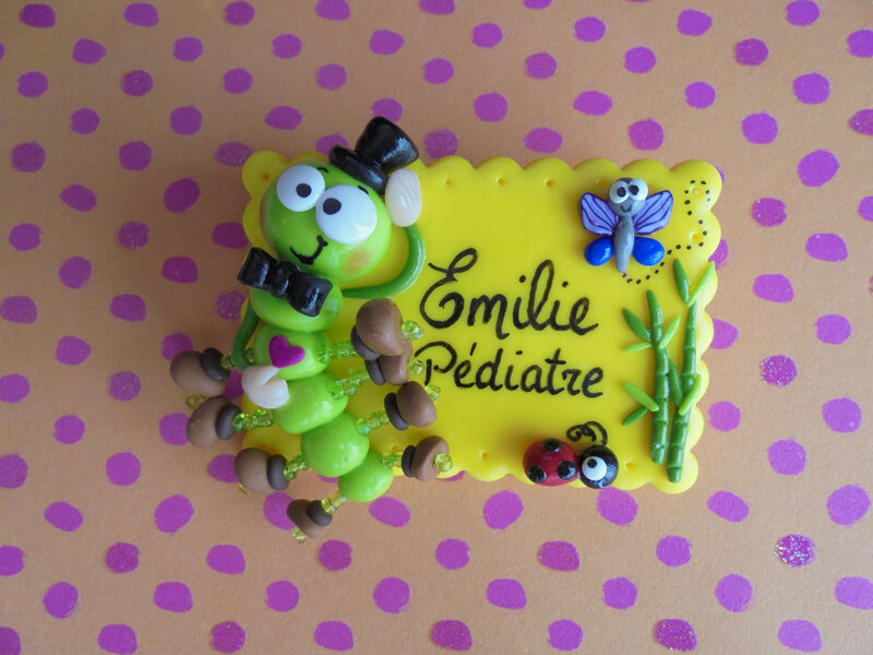 badge mille pattes