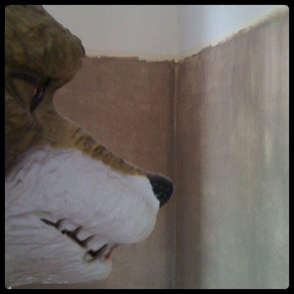 Chambre de baby z peinture 1 1 et 1 font 7 parfois 5 parfois 3 parfois 2 for Peinture brun taupe