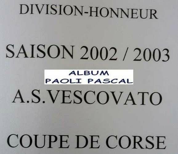 138 - Paoli P 2002 2003 Cpe Corse