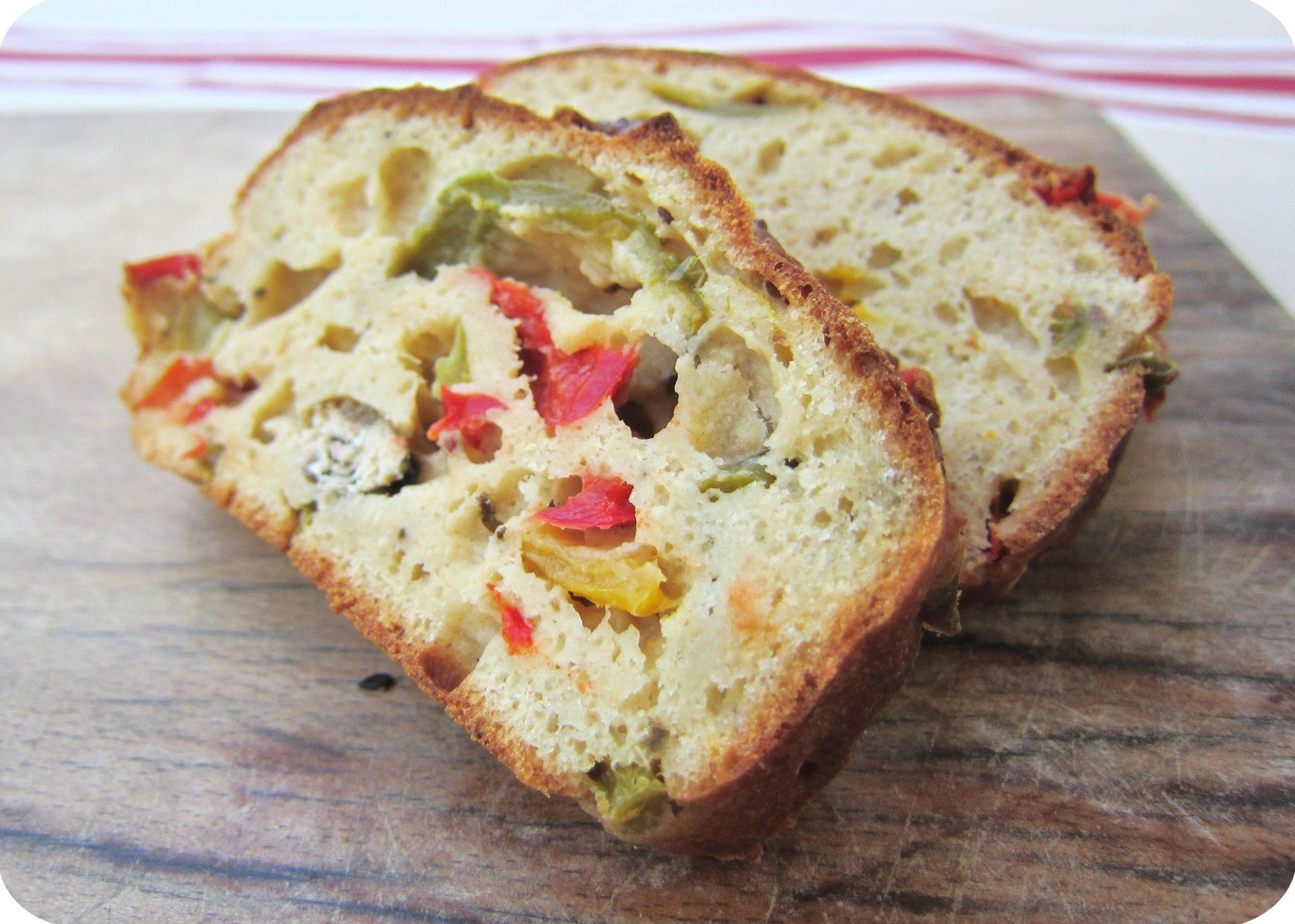 Recette Cake Au Trois Poivrons