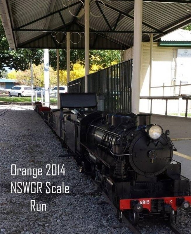 0114 Australie Orange NSW Miniature Railway Matthews Park 2014 B-P