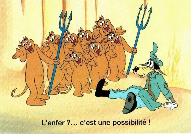 CPM Dessin animé Blitz Wolf 1942
