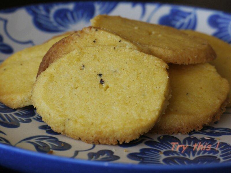 gâteaux citron poivre