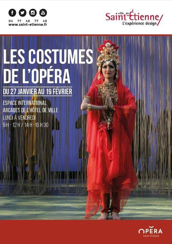 costumes de l'opéra se st Etienne