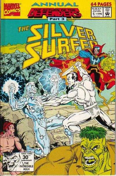 silver surfer annual 05 1992
