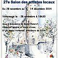 27ème salon des artistes locaux au château des tours à anse