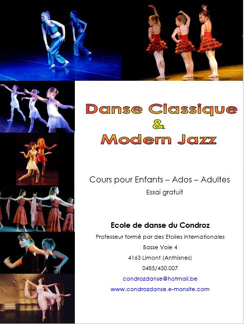Ecole de danse 2014