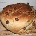 Pain kamut aux noix et noisettes