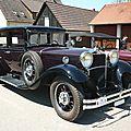 MERCEDES Nürburg 500 berline 1931 Gundelfingen (1)