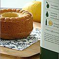 Gâteaux au yaourt, citron & huile d'olive - tortas al yogur, limon & aceite de oliva