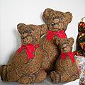 Les trois ours.... sans boucle d'or
