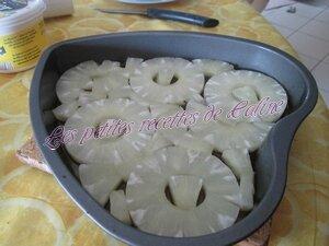 Gâteau renversé à l'ananas10