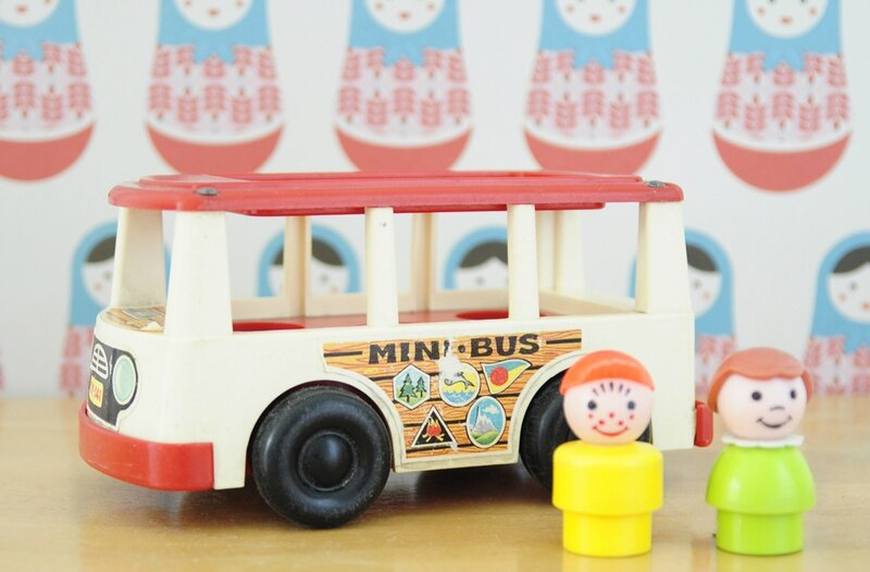 bus fisher price coté