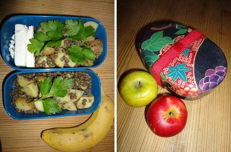 Lunch box début d'année