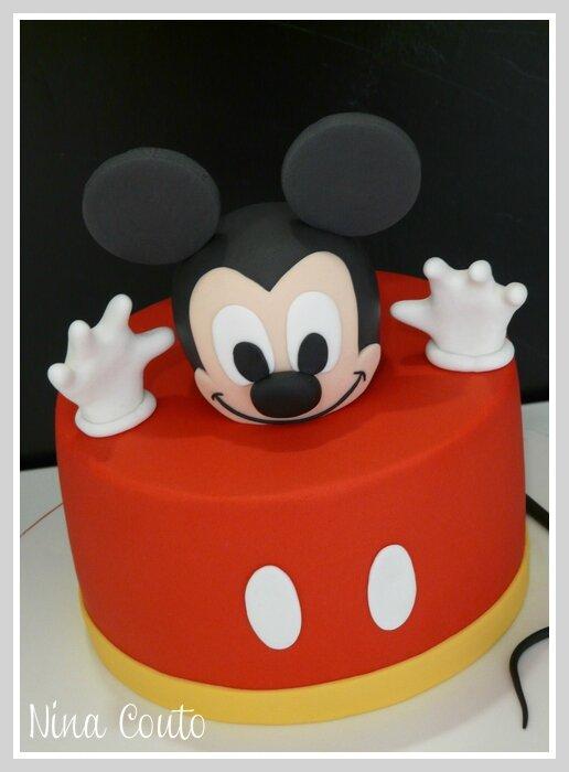 Gateau anniversaire enfant Nimes Mickey 2