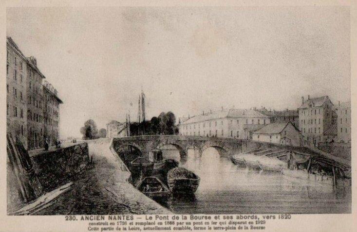 Ancien Nantes - Pont de la Bourse