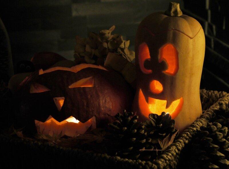 A Halloween boooo
