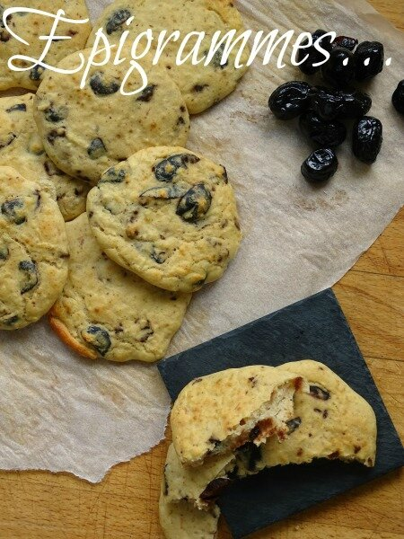 Cookies Haricots Olives Noires 03