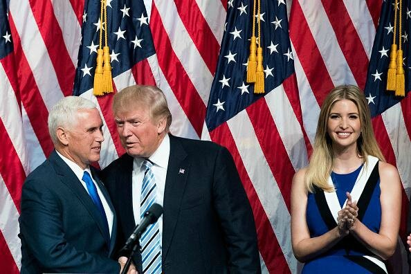Donald Trump and Mike Pence Republican Convention