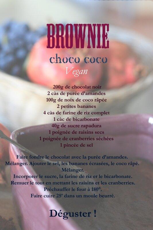 brownie choco banane vegan 026