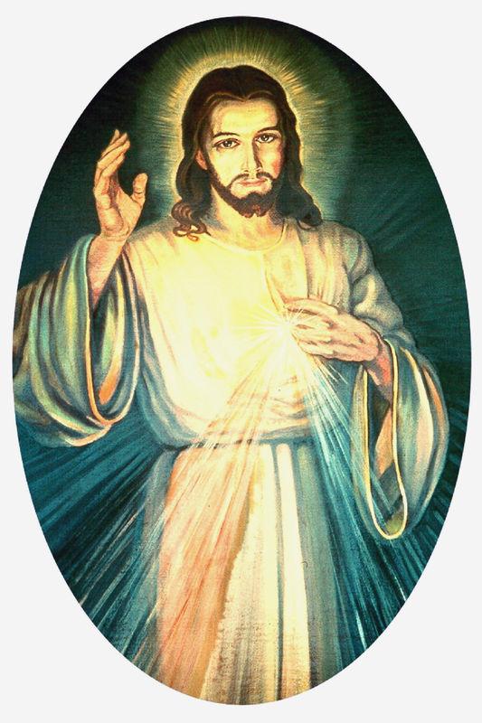 le christ mis u00c9ricordieux - vision de sainte faustine