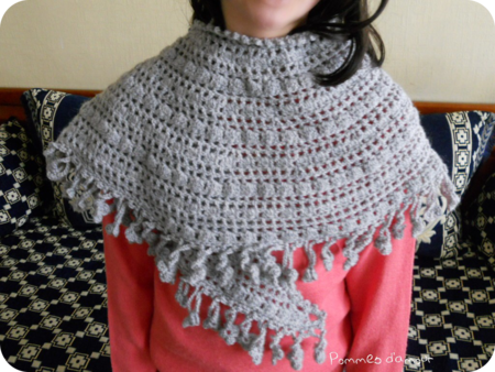 crescent moon shawl 1 rond