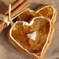 Petits coeurs gourmands en pain d'épices!