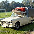 Peugeot 404 pick-up baché (30 ème Bourse d'échanges de Lipsheim) 01