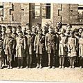 Retrouver les écoliers houesvillais de l'année 1958