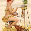 mes peintures -fleurs...