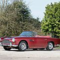 Bonhams aston martin sale offers peter ustinov's rare 1962 aston martin db4 series iv