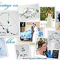 Bijoux de mariage originaux avec perles bleu et turquoise, mariage turquoise