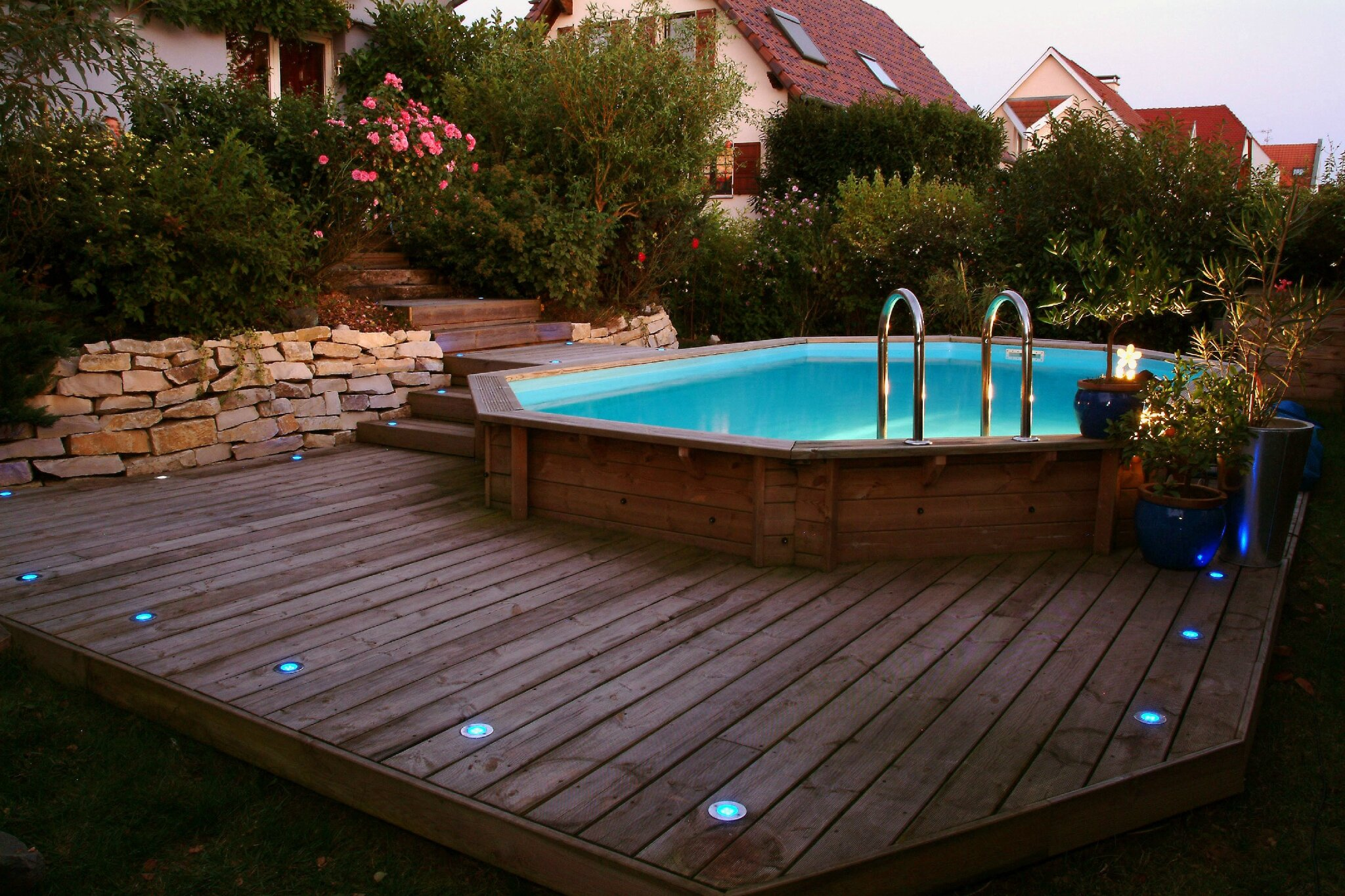D co jardin piscine hors sol for Piece de piscine hors sol